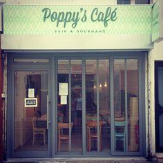 Poppy's Café : sain et gourmand, déco sympa, cuisine maison, brunch,... 23 rue de Montreuil - 11ème