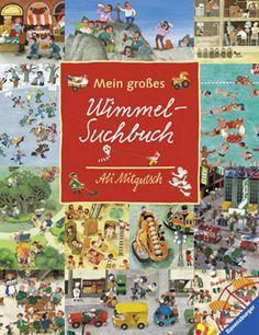 """Libri """"cerca e trova"""", """"aguzza la vista"""" e Wimmelbuch per sviluppare la capacità di osservazione dei bambini - Mein großes Wimmel-Suchbuch"""