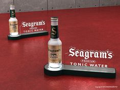Seagrams Tonic | INNOVACION PLV Pos Display, Wine Display, Counter Display, Display Design, Bar Counter Design, Pos Design, Trophy Design, Visual Merchandising Displays, Point Of Purchase