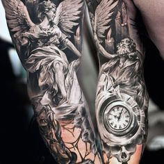 the possibilities are almost endless when it comes to arm tattoo designs and styles. Here are 100 cool arm tattoos for men. Creative Tattoos, Great Tattoos, Trendy Tattoos, Unique Tattoos, Beautiful Tattoos, Awesome Tattoos, Statue Tattoo, Tattoos Arm Mann, Arm Tattoos For Guys