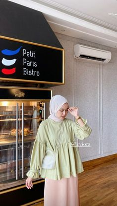 Casual Ootd, Casual Hijab Outfit, Ootd Hijab, Girl Hijab, Casual Outfits, Korean Girl Fashion, Muslim Fashion, Hijab Fashion, Fashion Outfits
