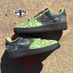 new product badcb 3238e Nike Air Force 1 03 HUF Quake  LandOKicks