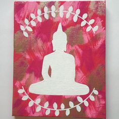 acrylic painting ideas buddha - Google Search