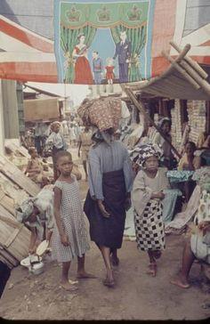 Lagos Market in 1956