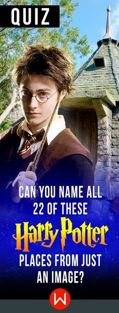 How familiar are you with the wizarding world? Can you find yourself around all these Harry Potter places? HP trivia. Check how much you REALLY know Harry Potter on this HP quiz. JK Rowling.