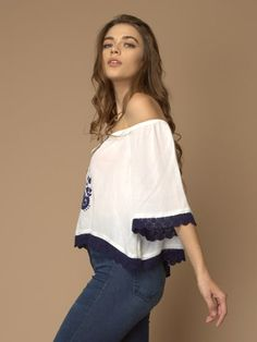Online Fashion Stores, Off Shoulder Blouse, Yellow, Tops, Women