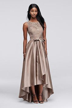 Mother Of The Bride Groom Dresses David S Bridal High Low