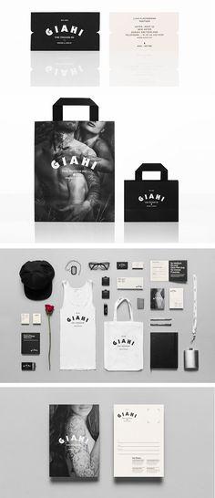 Giahi tattoo and piercing studio || Anagrama -- fantastic bag! #branding #tattoo #identity