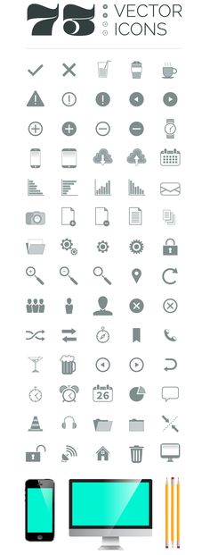 73 Vector Icons