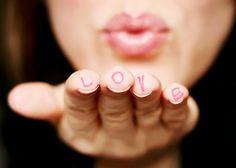 kiss + love