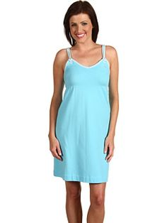 Lacoste - Stretch Pique Empire Waist Tank Dress...have this in blue and orange...very comfortable!