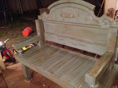 Caroline Headboard Bench -- MADE TO ORDER