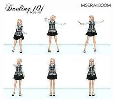 [Miseria] Dueling 101 Pose Set | Flickr - Photo Sharing!