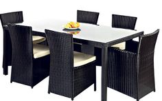 slate garden dining table - Google Search