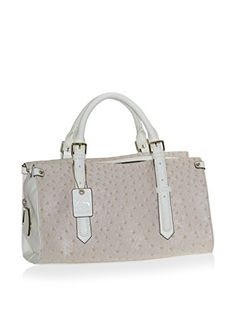 94a3cf59c819 Buxton Womens Angelina Ostrich Finish Satchel Handbag Ivory    Details can  be found by clicking on the image. (This is an Amazon affiliate link)