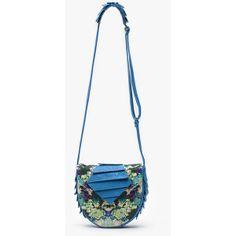 Collina Strada Cora bag in Garden and Blue