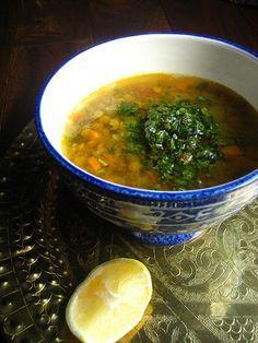 Algerian Lentil Soup (Chorbet Addas)