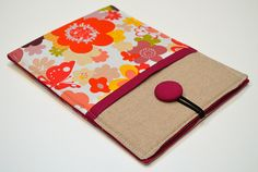 e-reader sleeve by sew crafty jess