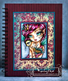 """CRAFTS AND ME CHALLENGE AND INSPIRATION BLOG """"Willow"""" Dragonfly Fairy Digi Stamp HannahLynn.com"""