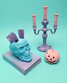 Creepy Cute Halloween 2015- Pastel Goth inspired party via happymundane.com