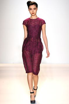 Toya's Tales: What Will Catch My Eye?: Lela Rose: My Faves From the Fall 2012 Lela Rose Show