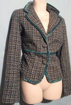 Green Blazer Size 12
