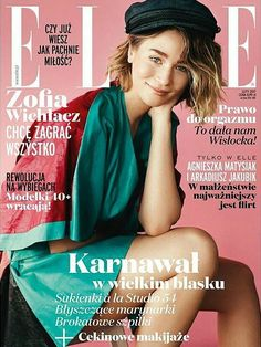 Zofia Wichlacz for Elle Poland February 2017 Cover