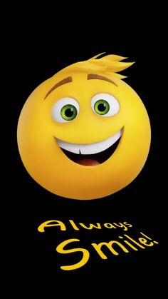 Always smile wallpaper by PrashantPatil_ - ea - Free on ZEDGE™ Emoji Wallpaper Iphone, Smile Wallpaper, Cartoon Wallpaper Hd, Cute Girl Wallpaper, Cute Wallpaper For Phone, My Name Wallpaper, Cute Cartoon Pictures, Cute Profile Pictures, Dont Touch My Phone Wallpapers