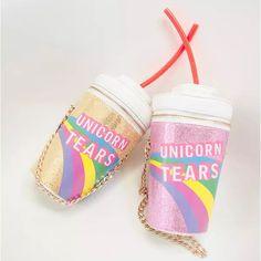 Novelty Designer Handbags High Quality Skinny Dip Unicorn Tears Bag Women Personalized Drink Soda Bottle Shoulder Bag