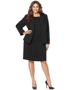 plus size suits for women - plus size womens suits - macy's | work