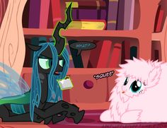 Lol fluffle puff squee she licked the bar chryssi is eating Fluffy Puff, Canon Ship, Mlp, Ponies, Paradise, Pokemon, Ships, Fandoms, Funny