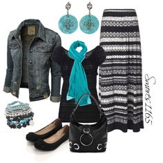 """Aztec Maxi"" by smores1165 on Polyvore"