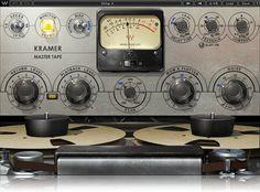 "Developed in association with Eddie Kramer, the Kramer Master Tape plugin is modeled on a a rare vintage 1/4"" reel-to-reel machine."