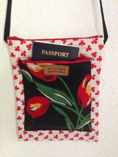 so you can have that passport ready for the umpteenth identity check through security! Fabric Scraps, Passport, Euro, Stuff To Do, Identity, Reusable Tote Bags, Check, Personal Identity