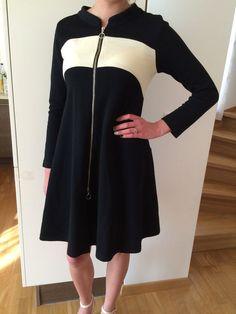 EUC MARIMEKKO RITVA FALLA GORGEOUS 100% WOOL DRESS. ZIPPER, POCKETS #Marimekko #SweaterDress #Casual