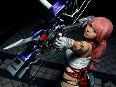 Serah - Final Fantasy XIII-2 cosplay