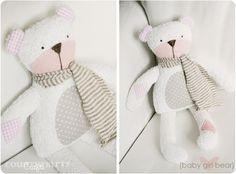 Countrykitty: Baby girl bear & baby boy bear