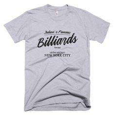 Think, new york hustler billiard shirt idea