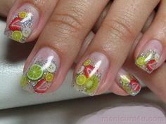 nail art fruit fimo - Google Search