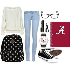 Cute Outfit for college