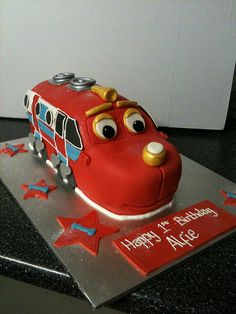 Chuggington Cake Via Flickr Birthday Ideas For Kids - Chuggington birthday cake