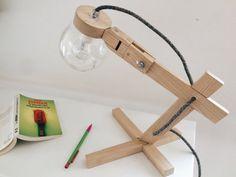 Ether lamp design wood by ChristianCaulas on Etsy