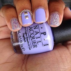 Current mani: Opi You're Such A Budapest and Color Club Sugar Plum Fairy