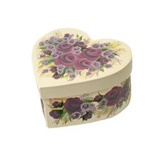 Wedding Card Holder  Hand Painted Plum and by HandPaintedPetals, $52.50