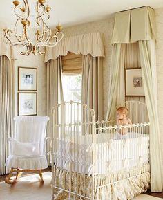 Baby Liza's nursery>> @ashleygilbreathinteriordesign