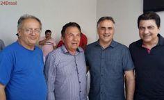 ESTADUALIZANDO: Luciano Cartaxo se reúne com lideranças políticas de Pedras de Fogo