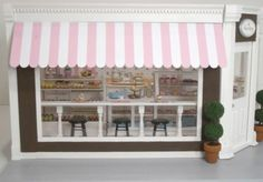 I like the store front look of this bakery