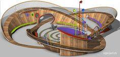 Landscape Gardening Meaning Marathi Modern Playground, Playground Design, Children Playground, Playground Ideas, Landscape Architecture Design, Concept Architecture, Design D'espace Public, Parque Linear, Urban Ideas