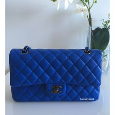 1365ae406d6f Chanel Classic Royal Blue Luxurysnob.com