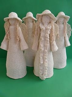 Crochet girls.